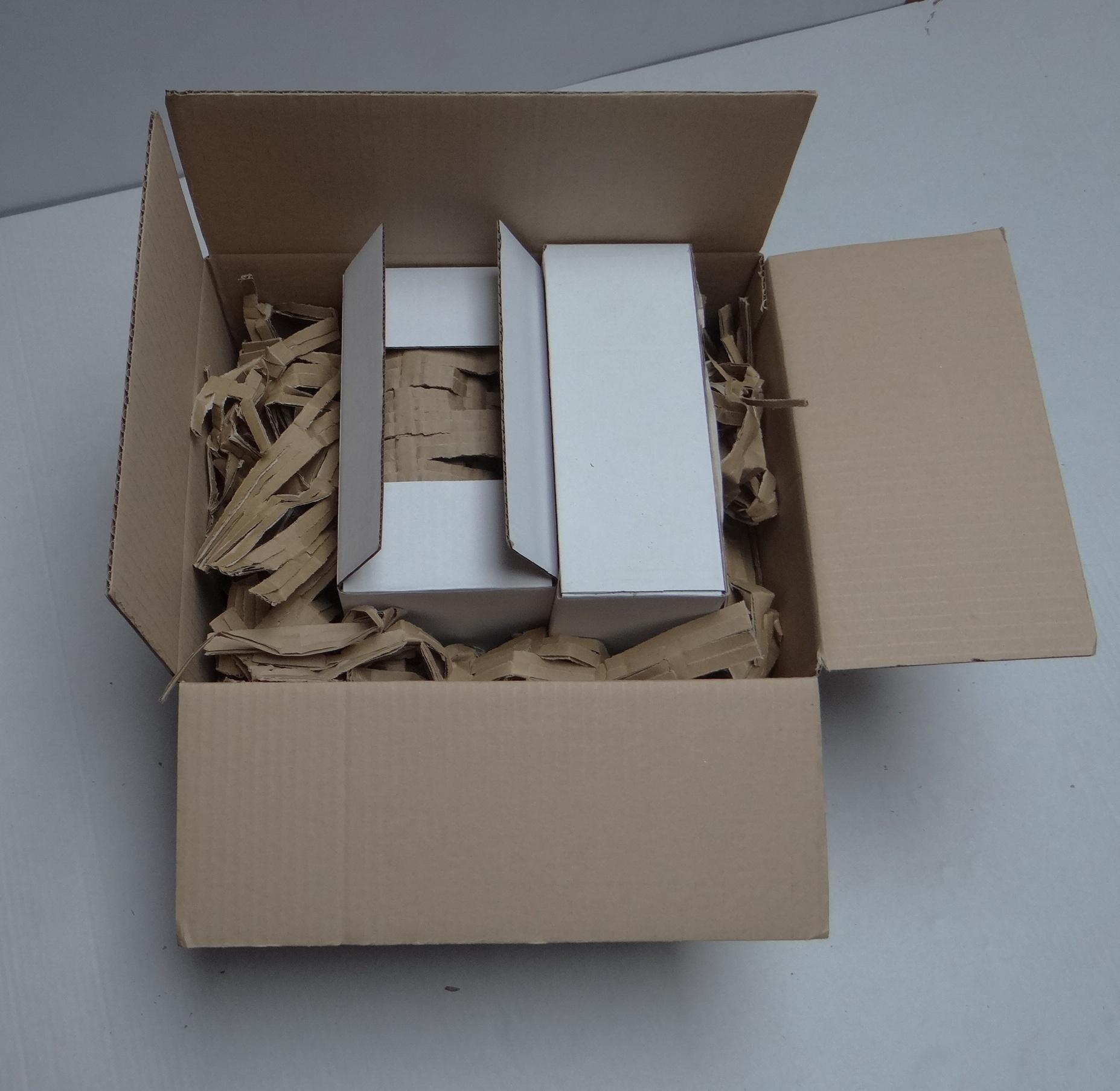 Dodatkowy karton ustabilizowany wypełniaczem